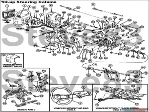 1990 Ford F 150 Steering Column Diagram  Wiring Forums