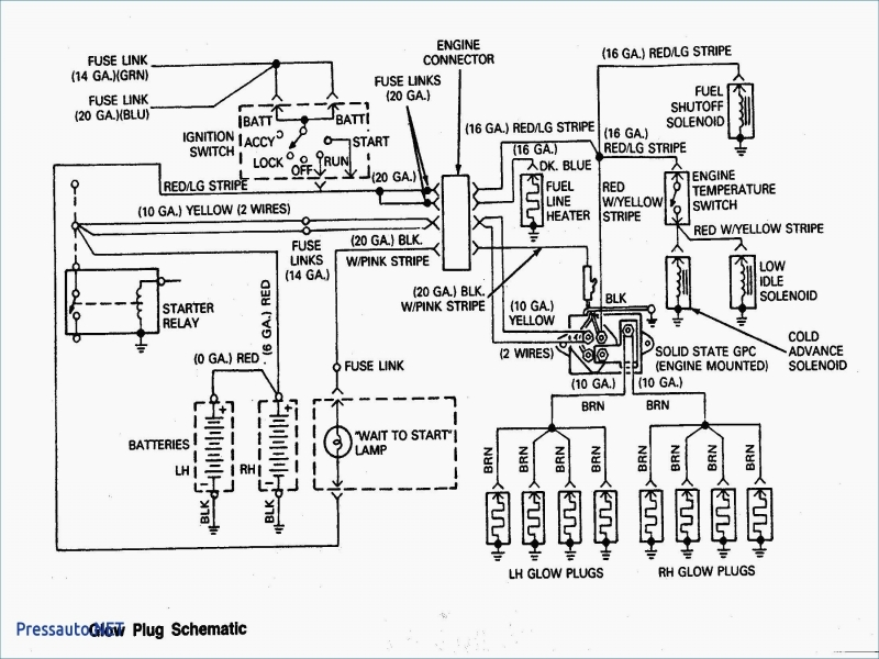 Typical Starter Relay Wiring Diagram Kubota