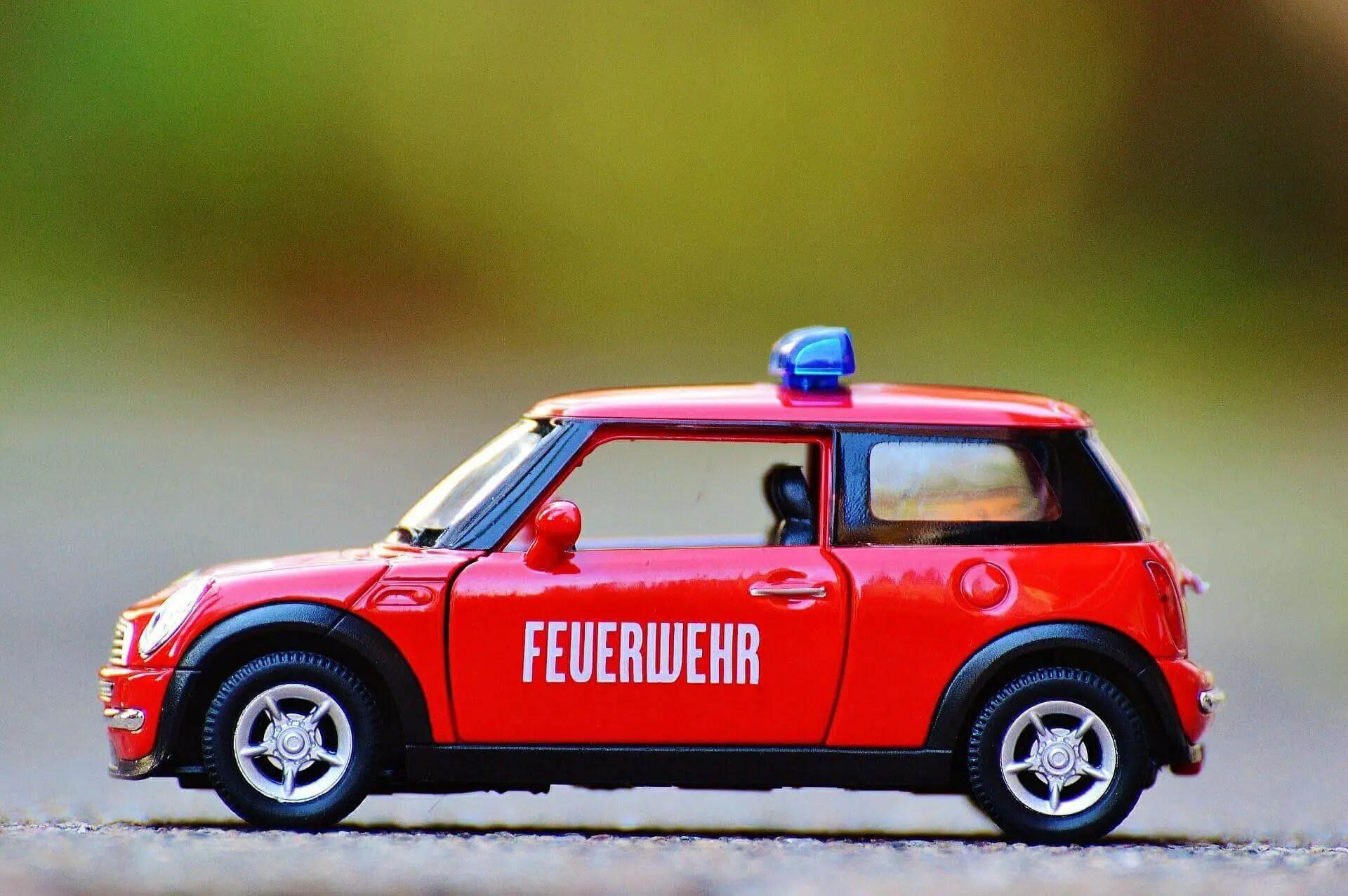 Spielzeug-Feuerwehrauto