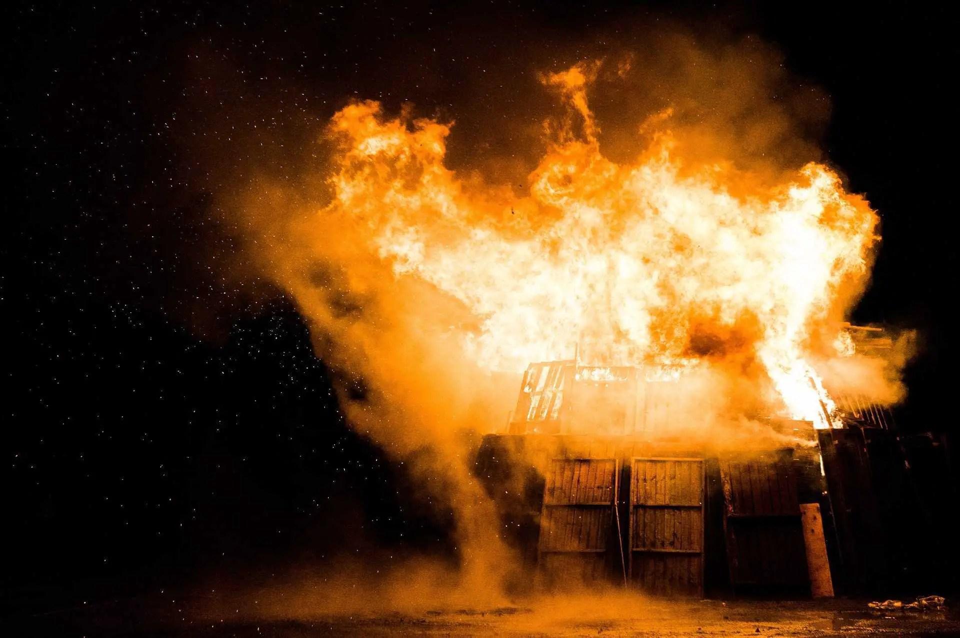 Brandstiftungen durch Feuerwehrangehörige