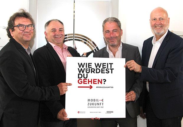 Das Projekt MOBILE ZUKUNFT soll sich positiv auswirken auf den Mobilitätswandel in Osnabrück
