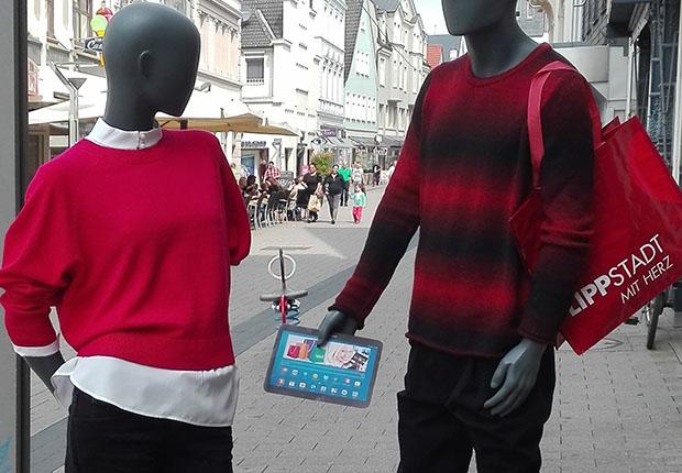 """Wirtschaftsförderung erhält Förderbescheid für """"Einkaufserlebnisführer"""" - Der Lippstädter Einzelhandel sagt dem Onlinehandel den Kampf an."""