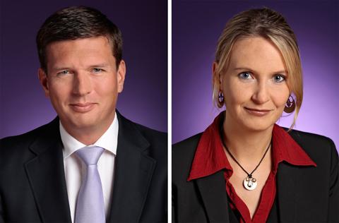 Dieter Spranz und Sandra Müller