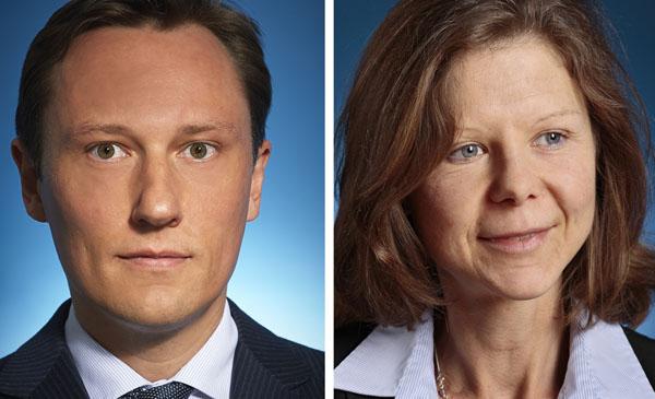 Claus Schneider und Christine Siegl
