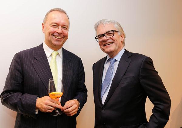 BG Managing Partner Michael Kutschera und Wolfgang Eder
