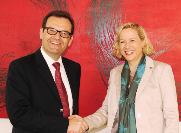 Thomas Frad und Barbara Kuchar