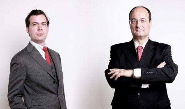 Robert Ertl und Michael Breitenfeld