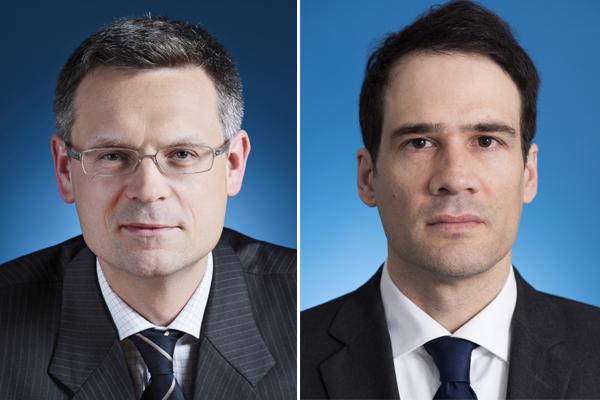 Manfred Essletzbichler und Philipp Marboe
