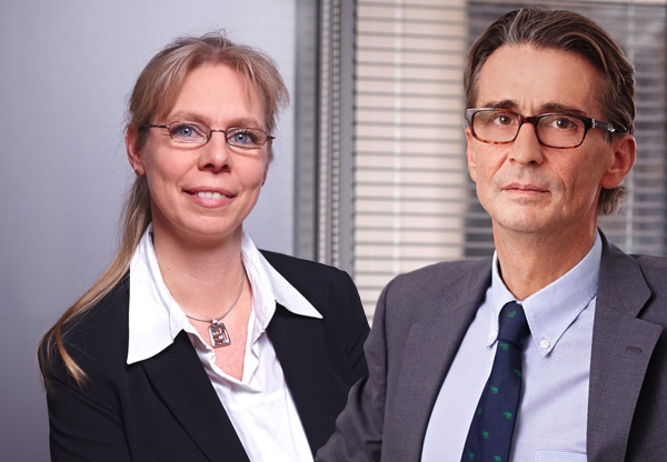 Claudia Steegmueller und Raimund Cancola
