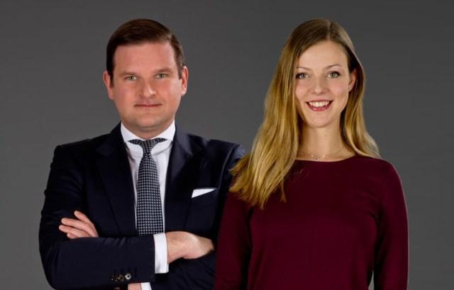Dr. Dimitar Hristov, Partner und Leiter der Steuerrechtspraxis bei DLA Piper und Associate Mag. Constanze Plischnack