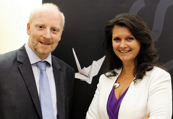 Rainer Stempkowski und Katharina Müller