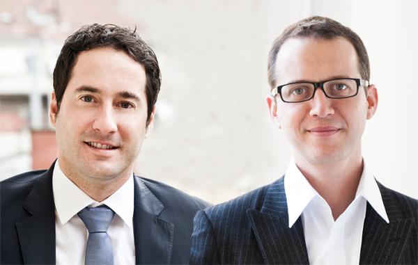 Thomas Gruber und Leo Groetschnig