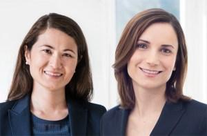 Dr. Monika Tamisch und Dr. Karin Groier