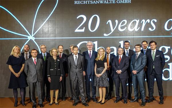 Graf Pitkowitz feierte 20 Jahre