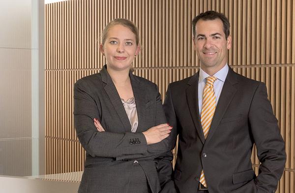 Katharina Aretin und Christopher Schrank