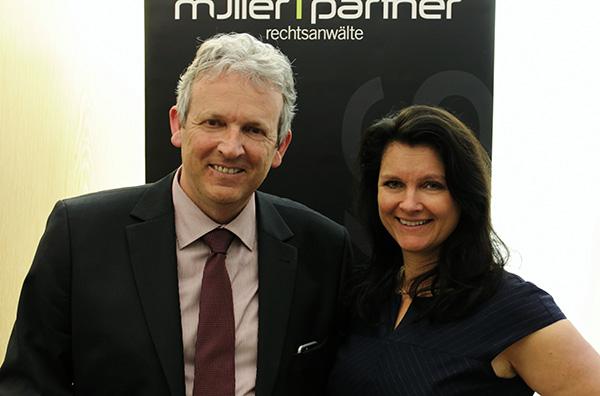 DDr. Katharina Müller und Bmstr. Ing. Robert Weber