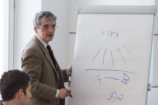 Univ.-Prof. Dr. Martin Karollus von der Johannes Kepler Universität Linz