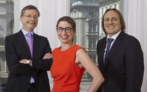 Martin Oppitz, Marie-Agnes Arlt und Hermann Ortner starten A2O