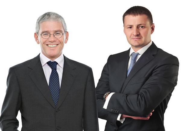 Partnern Christoph Lindinger, Slaven Moravcevic