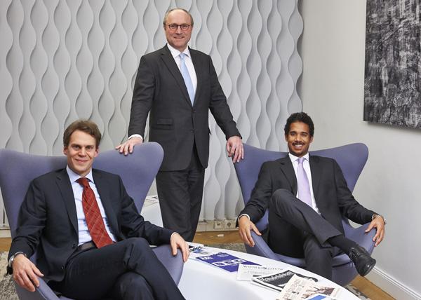 Philipp Spring, Thomas Wallentin und Patrick O. Kainz