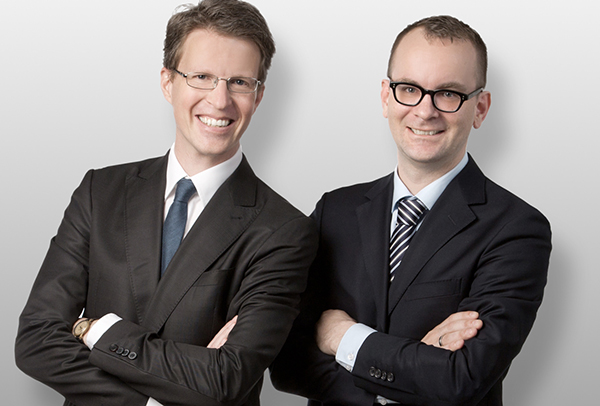 Martin Niederhuber und Paul Reichel