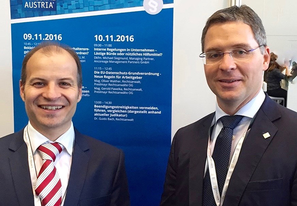 Gerold Pawelka und Oliver Walther