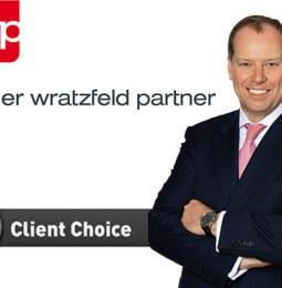 fwp-Partner Markus Fellner gewinnt prestigeträchtigen Client Choice Award 2018 für Banking