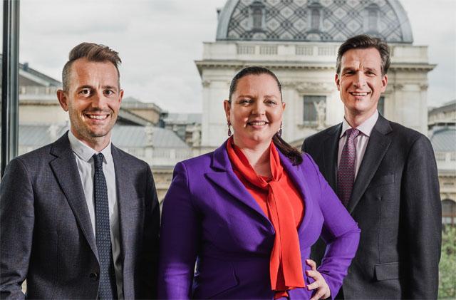 Axel Anderl, Francine Brogyányi und Martin Brodey