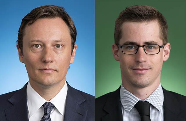 Claus Schneider und Nikolaus Dinhof beide Banking & Finance