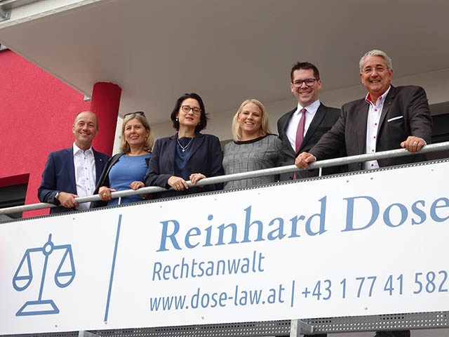 Reinhard Dose - Eröffnung