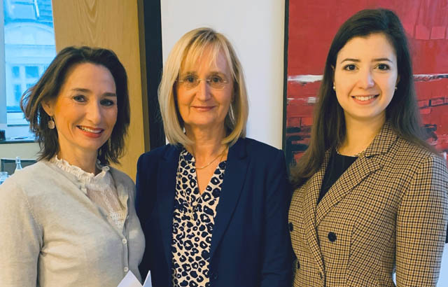 Mag. Simone Maier-Hülle, Dr. Manuela Maurer-Kollenz und  Mag. Anna Schimmer