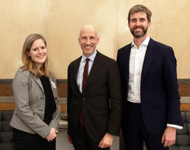 Anna Wolf-Posch, Martin Kocher und Bernhard Kofler-Senoner