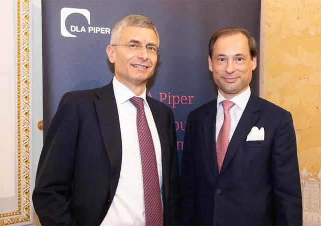 Global Co-Chairman and Senior Partner Andrew Darwin und Austrian Managing Partner David Christian Bauer