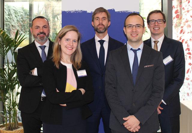 Boyko Gerginov, Anna Wolf-Posch, Bernhard Kofler-Senoner, Gergely Barabás und David Kučera