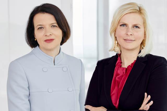 Elke Napokoj und Michaela Pelinka