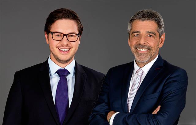 Associate Mag. Armin Redl und Dr. Thomas Kralik