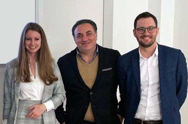 Christl Feichter (Jarolim Partner), Ariel Golan (KIC InnoEnergy), Stefan Perkmann-Berger (WhatAVenture)