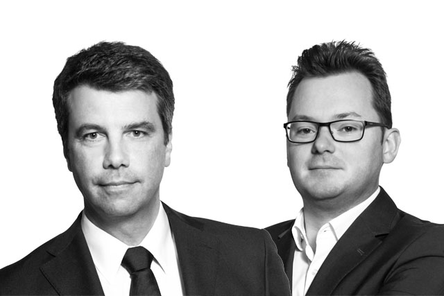Ivo Rungg und Christian Zwick