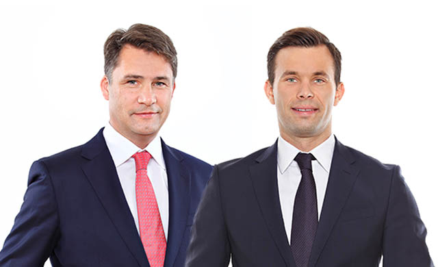 Michael Lagler (Managing Partner, Wien) und Clemens Rainer (Counsel, Wien)