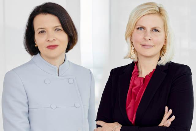Elke Napokoj und Michaela Pelinka - bpv Huegel