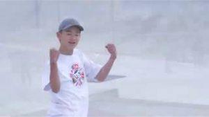 スケートボード日本選手権1日目1位根岸