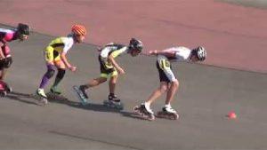 豊中かがやき大賞:インラインスピードスケート川口さん千里青雲高3