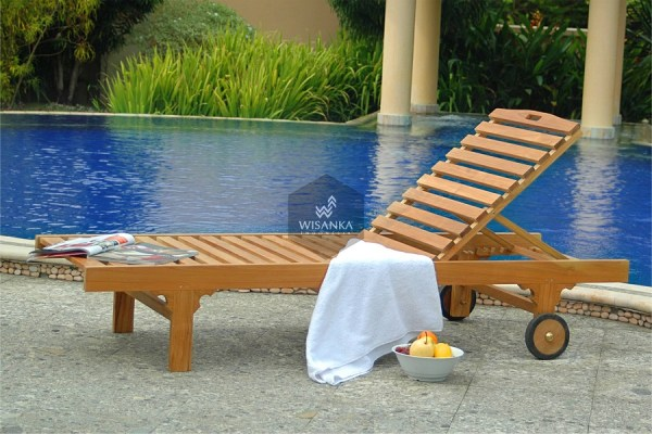 Bahamas Sunbed Loungers Wooden