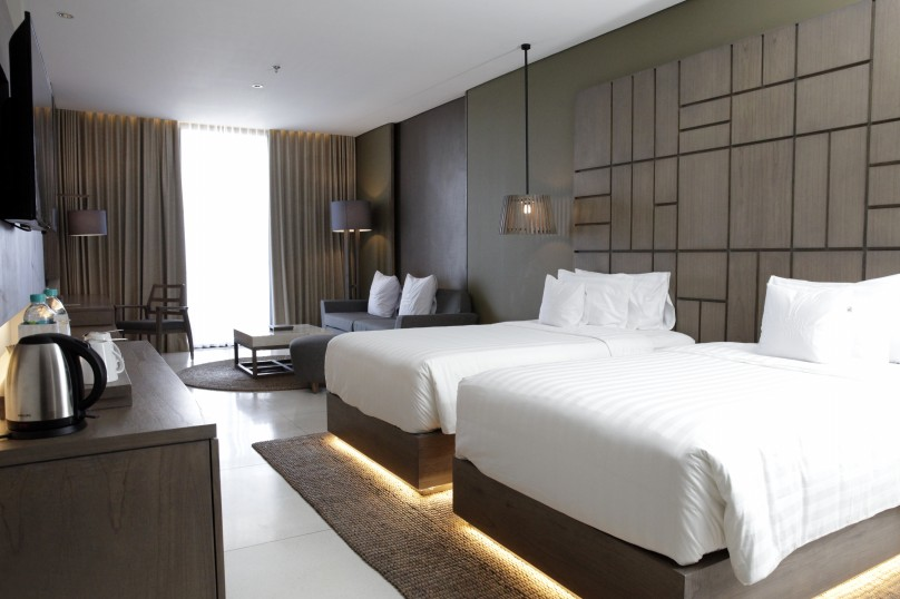 Fitted furniture for hotel project and resort