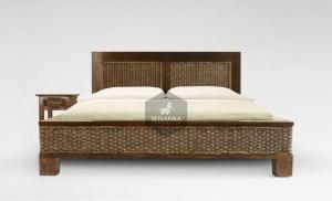 Kaloka Rattan Bed