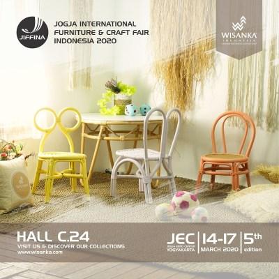 JIFFINA 2020 (Jogja International Furniture And Craft Fair) 2