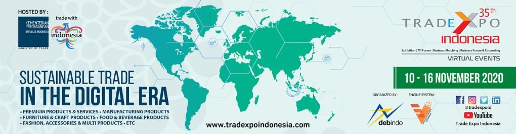 Trade Expo Indonesia 2020 Virtual Exebitions
