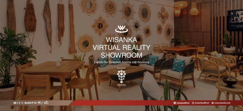 Wisanka Virtual Reality Showroom Banner