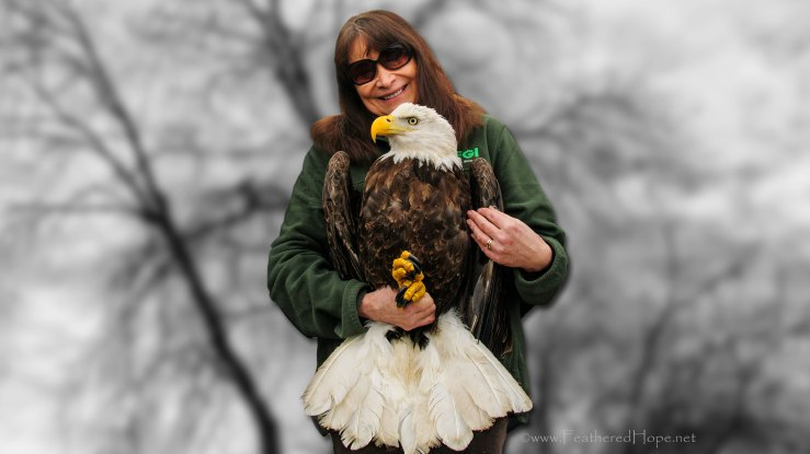 Marge Gibson, Raptor Education Group Inc.