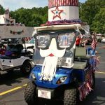 4th of July Golf Cart